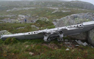 Flyvraket på Lundeheia